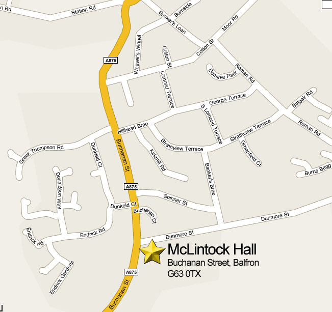 Balfron Church: Strathendrick Baptist at McLintock Hall